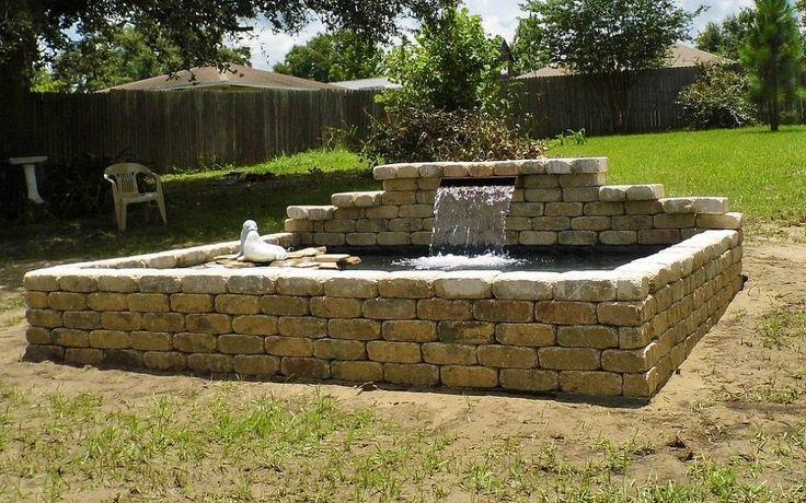 Backyard Raised Pond Ideas : patios