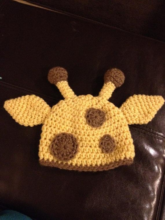 Crochet Pattern Giraffe Hat : Baby Giraffe Hat Crochet Pinterest