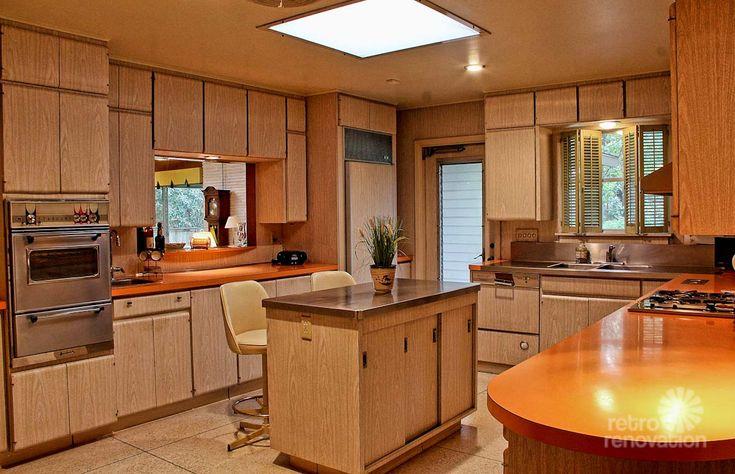 Kitchen Home 1410 Grey Oak San Antonio Texas USA Time Capsule