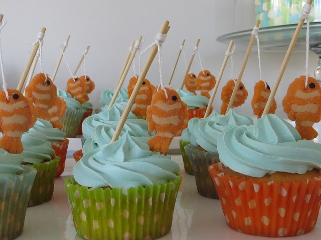 Fishing themed birthday party party ideas for boys for Fishing birthday party