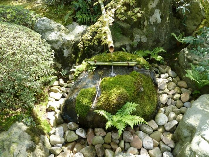 Japanese water feature garden decor pinterest for Japanese water feature