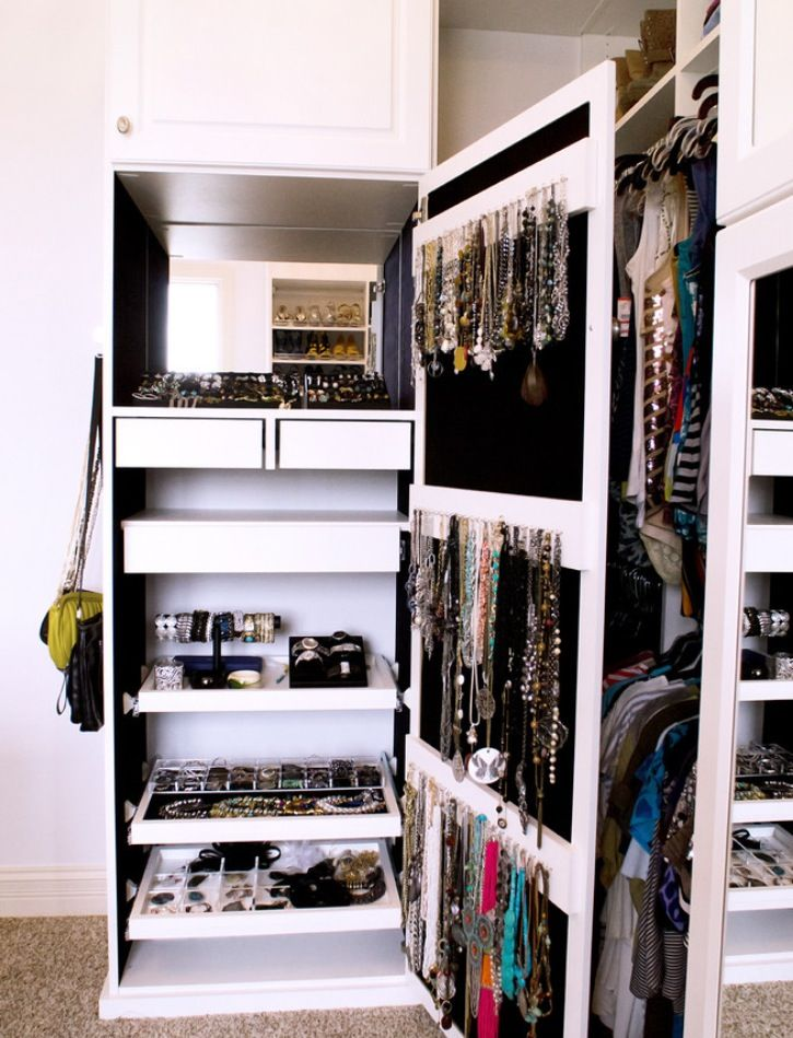 Jewelry storage ideas - Ideas for storing jewellery ...