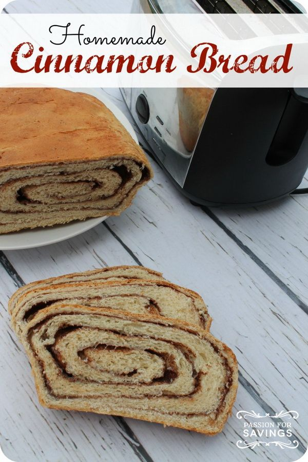 Homemade Cinnamon Bread Recipe So this is what I'm talking about ...