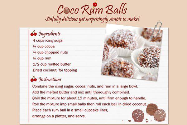 Rum Balls | Christmas baking | Pinterest