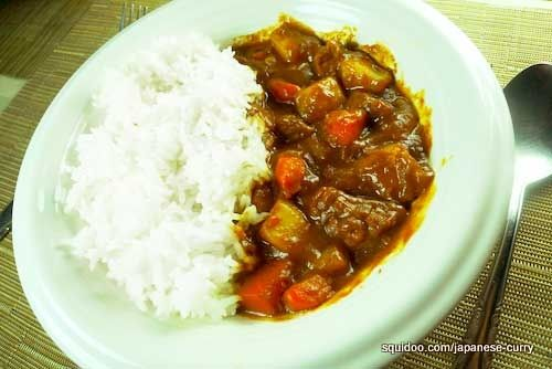 Japanese style curry rice (kare raisu) -- Making it from curry roux ...