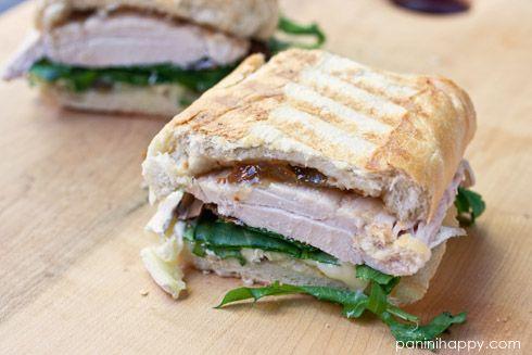 chicken brie fig amp arugula panini by kathy strahs panini happy