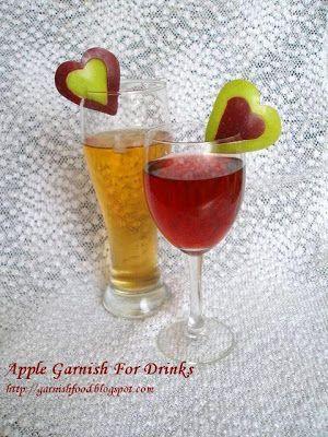 red valentine cocktails