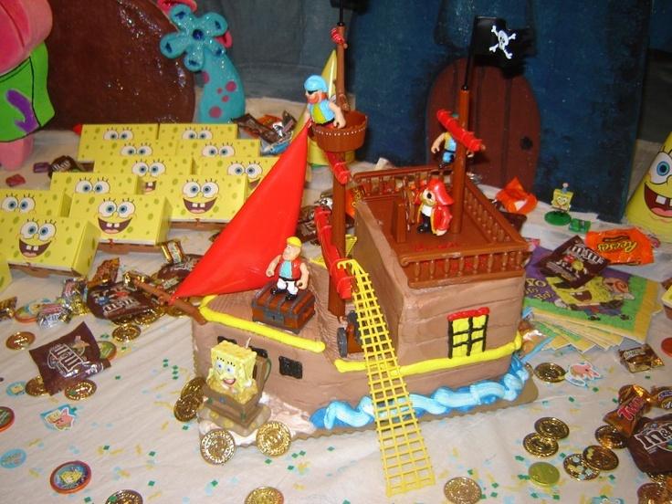 Publix Pirate Ship Cake