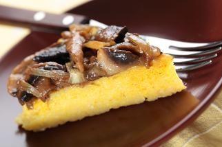 Baked Polenta With Mushrooms - Door to Door Organics