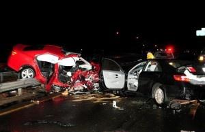 Car accident las vegas january 2015