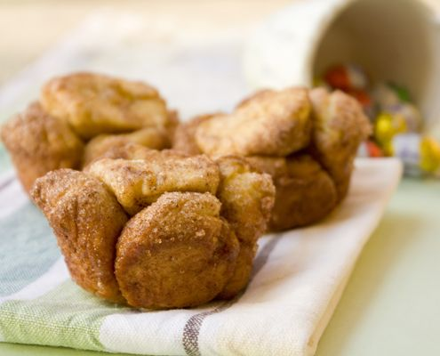 ... shapes, and ends up with a delicious recipe for Monkey Bread Muffins