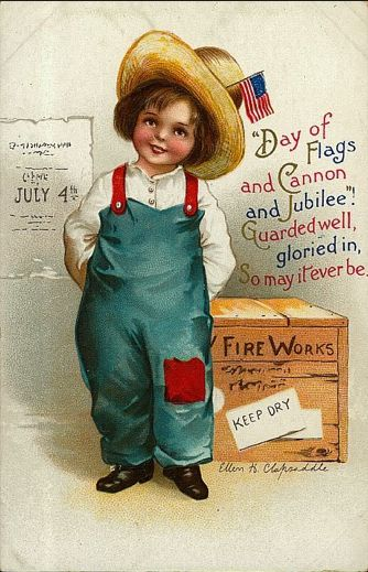 vintage july 4th decorations