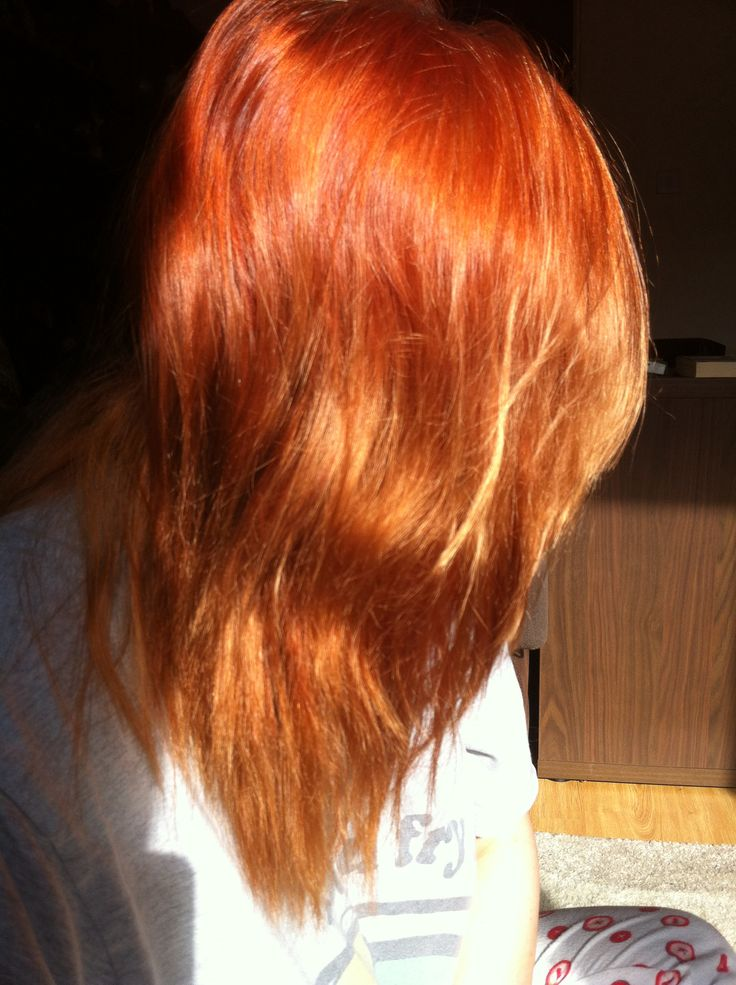 Burnt Orange Hair  Hair  Pinterest