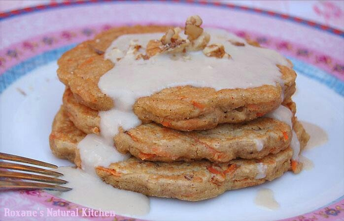 Carrot cake pancakes | El pote | Pinterest