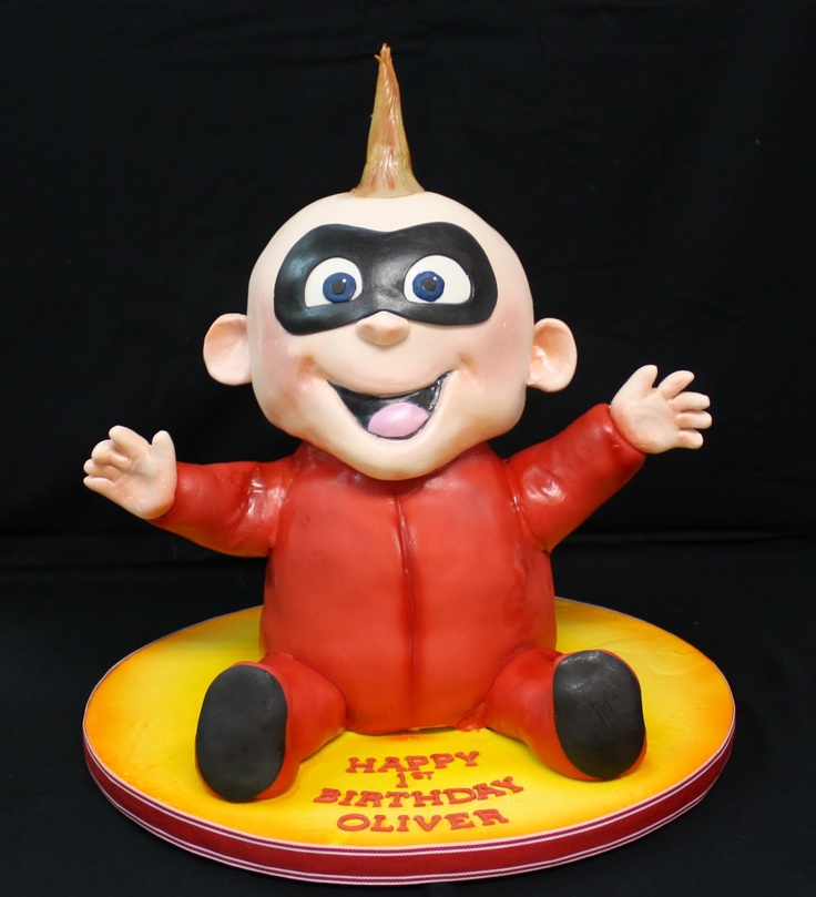 Complete Deelite: Baby Jack Incredible Cake - if we are able to have 3 kids and the third is a boy, we should do this cake - or if it's a girl we could change it up a little...