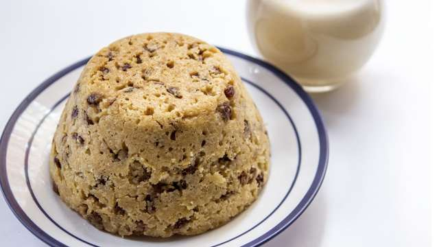 English food spotted dick
