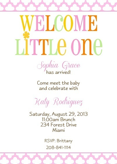Work Baby Shower Invitation Wording for luxury invitations layout