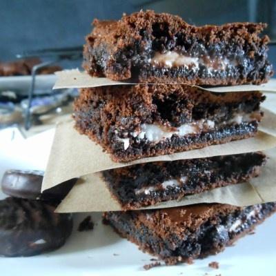 York Peppermint Brownies - Sugar Dish Me