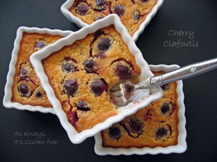 Gluten-free Cherry Clafoutis | Vegan, Paleo and Clean eating | Pinter ...