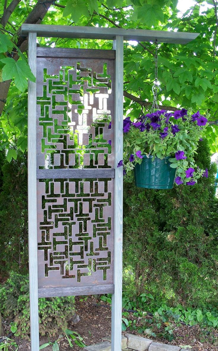 Unique garden trellis ideas photograph unique garden trell for Garden trellis ideas