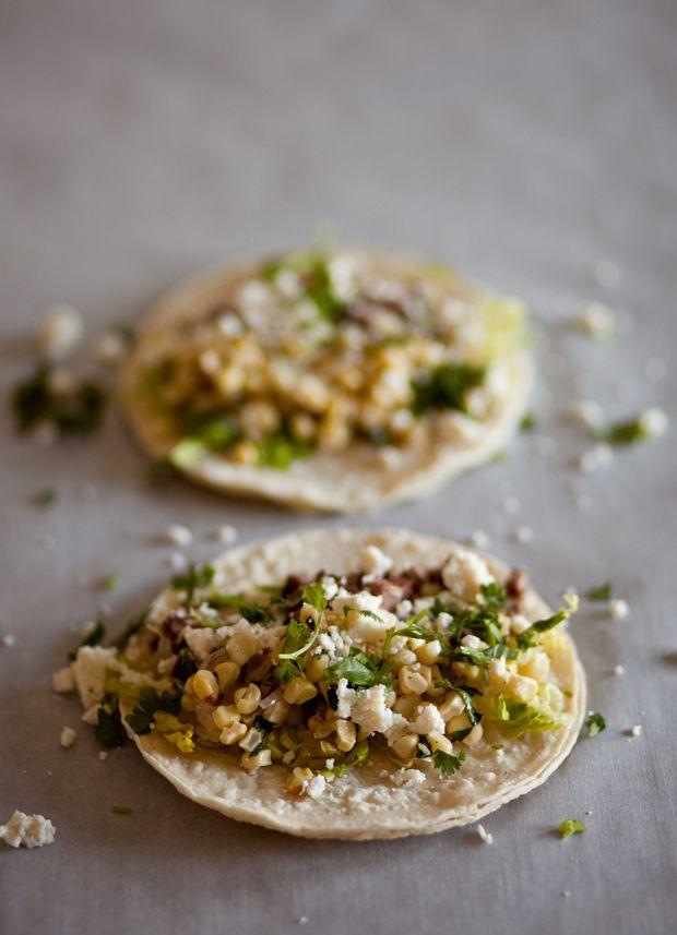 Carne Asada Tacos w/ Grilled Corn #Recipe