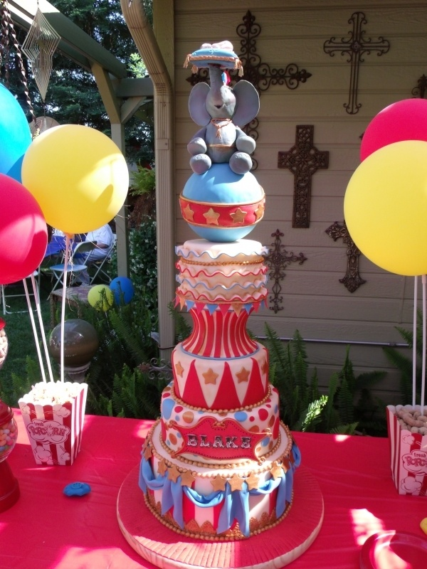 baby circus shower baby showers kid parties pinterest