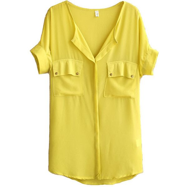 Yellow Blouse 116