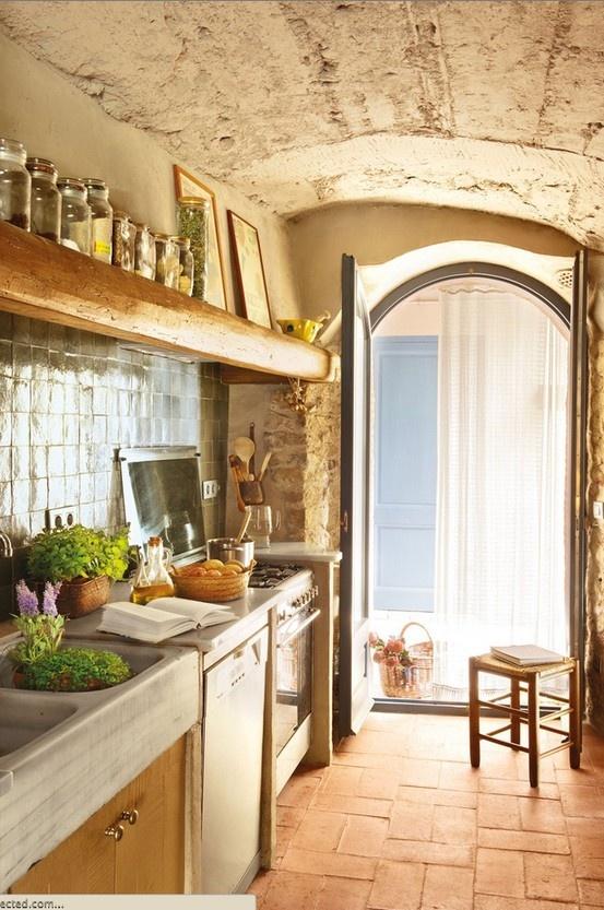 Cozinha rustica Kitchen Pinterest
