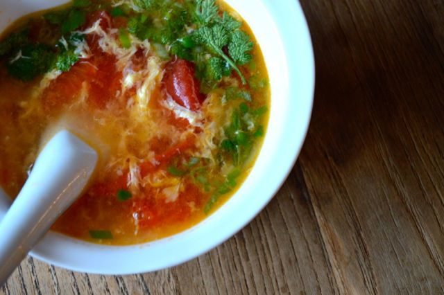TOMATO EGG DROP SOUP, it's like egg drop soup, but better, this ...
