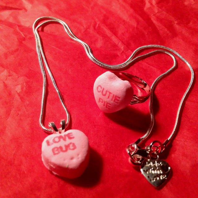 valentine candy rings