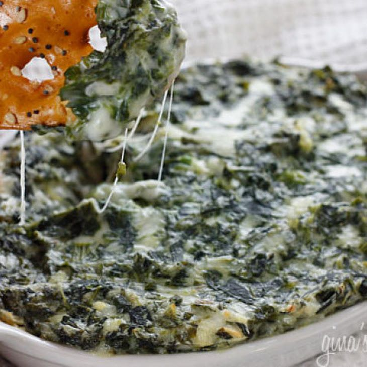 Hot Spinach Dip IX Recipe | Foods | Pinterest
