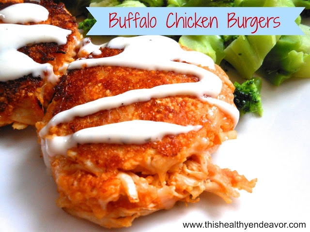 Buffalo Chicken Burgers | What's for Dinner? | Pinterest