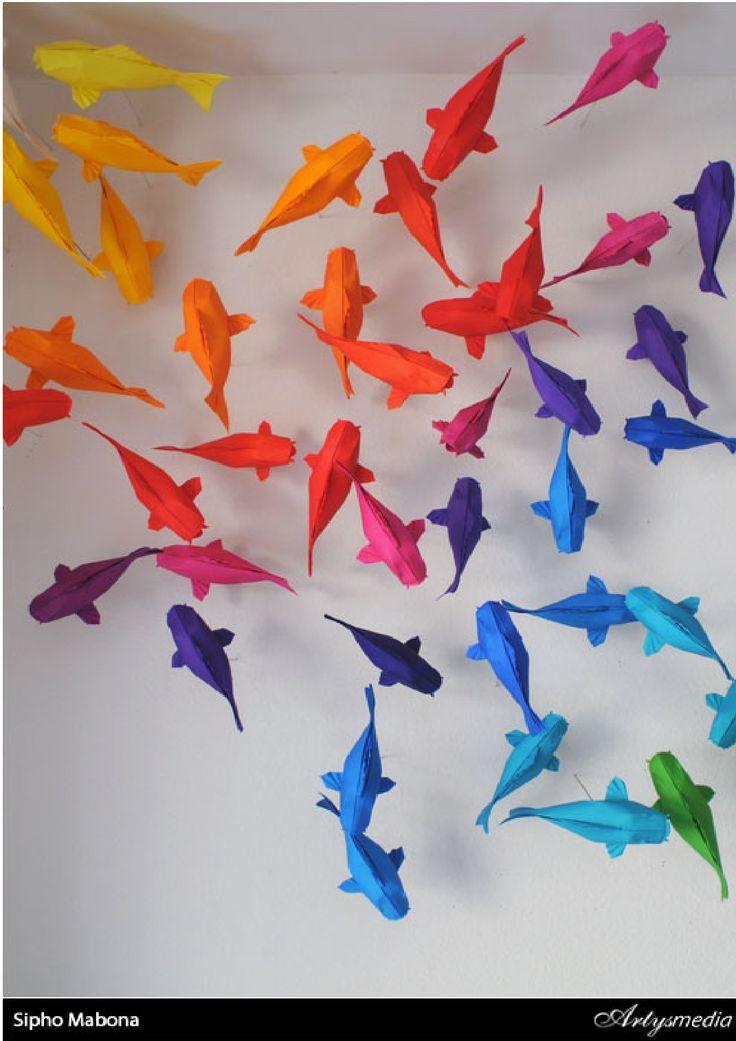 Pinterest for Origami koi fish tutorial