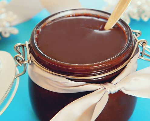 ... you a wonderful hot fudge sauce to serve over your favorite ice cream