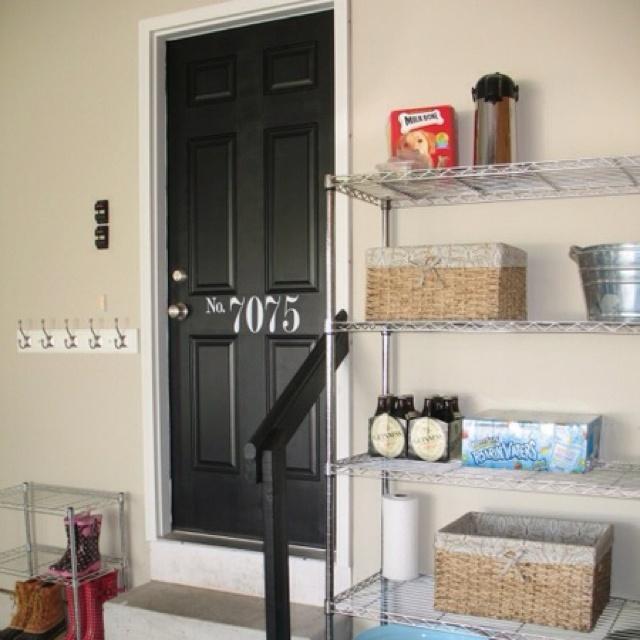 Garage Door Entryway Home Ideas Pinterest