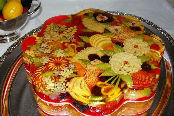 Желе торты с фото