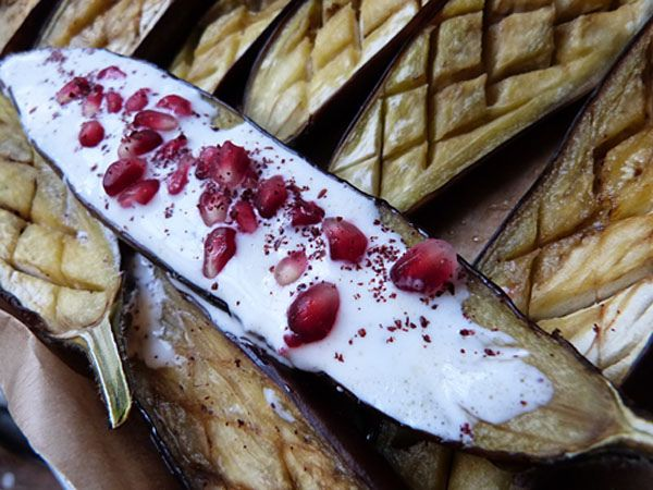 Eggplant with Buttermilk Sauce ... | Recipe | Pinterest