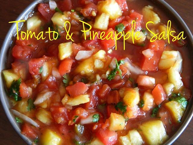 Tomato & Pineapple Salsa | Let's Entertain! | Pinterest