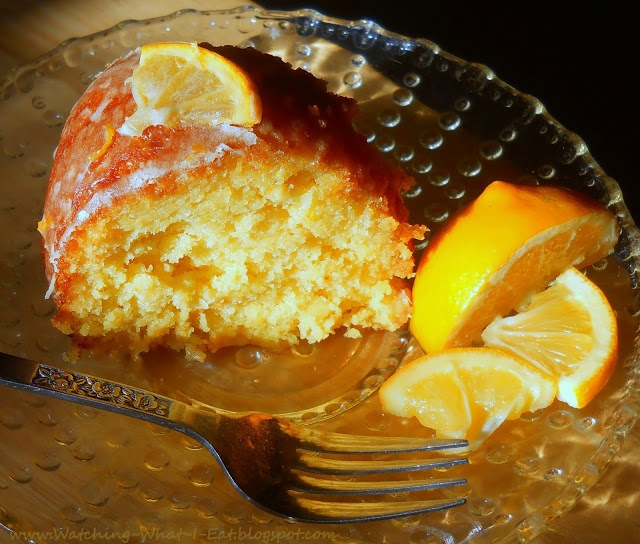 Meyer Lemon & Limoncello Bundt Cake with Limoncello Glaze