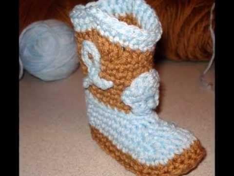 Cowboy Booties Crochet