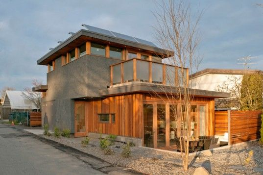 Prefab for a laneway house in Vancouver - doubly sustainable.