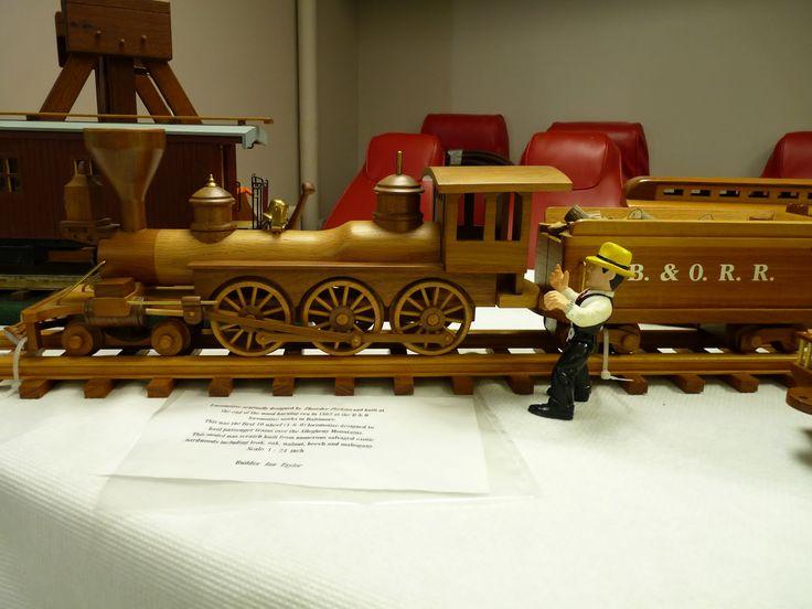 Wooden train plans google search wooden toys pinterest for Wooden locomotive plans