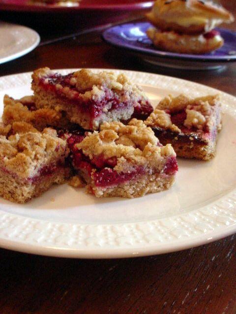 Raspberry Bars | food! | Pinterest
