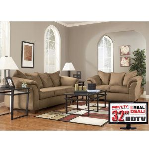 7 piece living room set with tv for 8 piece living room furniture set