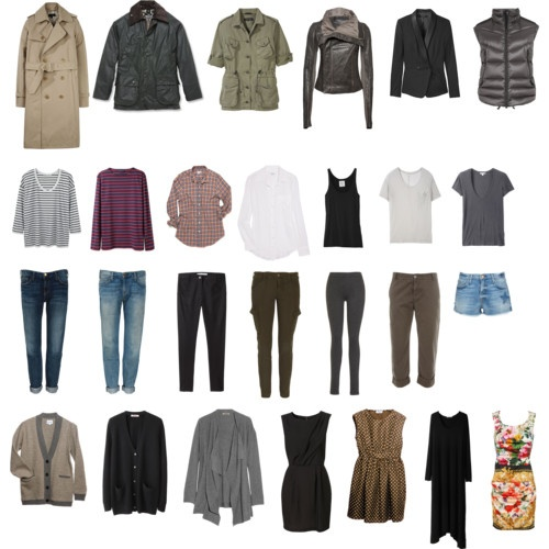 capsule wardrobe || what I wish my wardrobe looked like