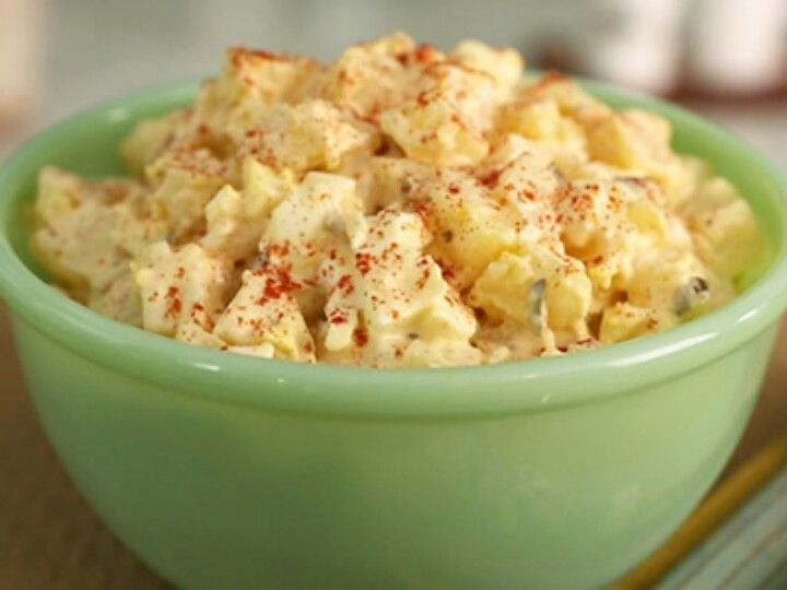 Southern style potatoe salad yum yumm yumm food for How to make homemade deviled egg potato salad