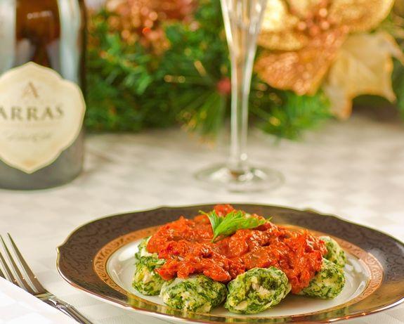 Vegetarian Christmas Part 1: Spinach & Ricotta Gnocchi