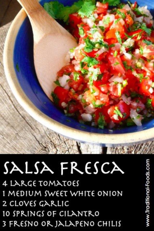 Salsa fresca | Fooooood-ish | Pinterest