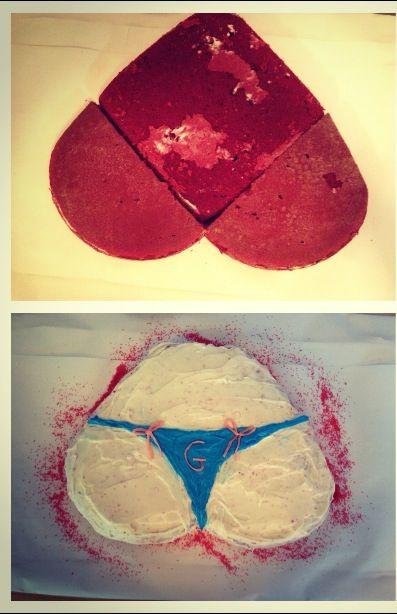Cupcake Penis Cake