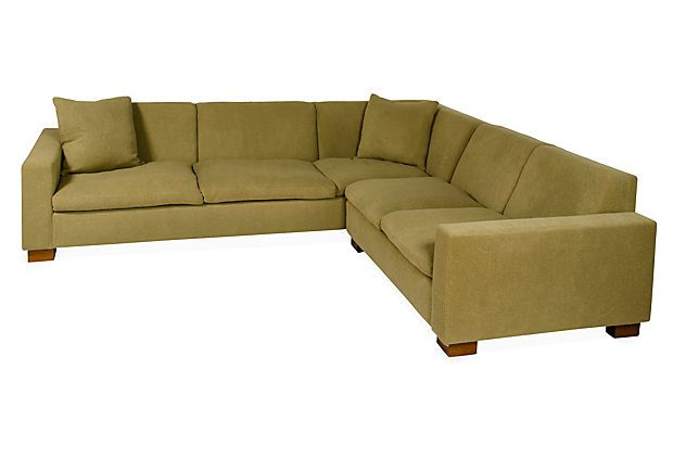 Moss green sectional couch for Moss green sectional sofa